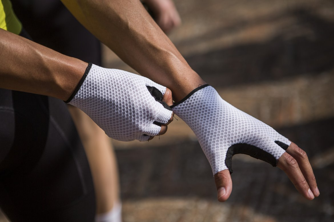 Climber's Gloves White