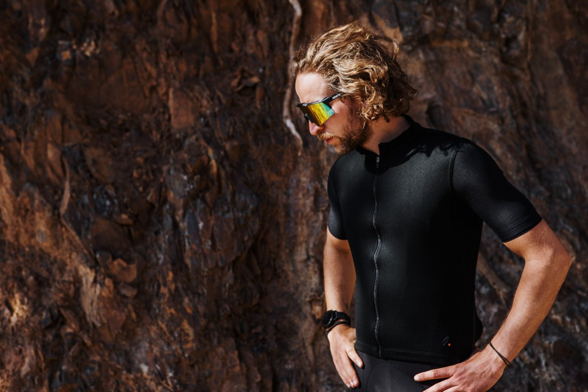 Signature Cycling Jersey Anthracite/Anthracite